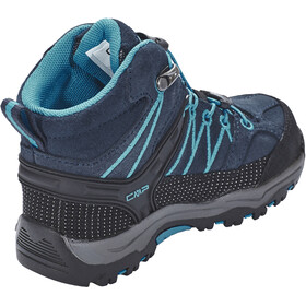 CMP Campagnolo Rigel WP Mid Trekking Shoes Kids asphalt-cyano